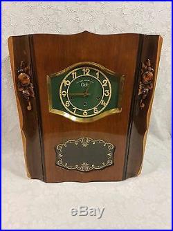 Magnifique carillon ODO 10 marteaux 10 tiges n°24 westminster. A saisir
