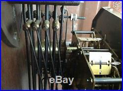 Magnifique carillon ODO 11 marteaux 10 tiges n°24 westminster. A saisir