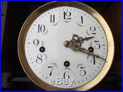 Magnifique carillon émaillé, horloge, musical wallclock, Uhr, relog, orologio