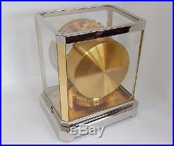 Magnifique horloge pendule (Clock) suisse Atmos Jaeger LeCoultre de 1952