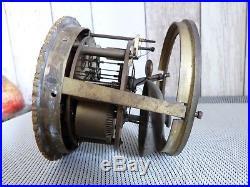 Mecanisme Ancien Au Fil De Pendule Diametre Encastrement 95 MM
