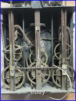 Mecanisme De Comtoise 3 Cloches Horloge 18eme