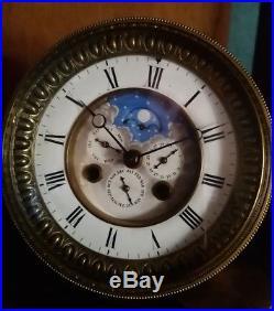 Mécanisme De Pendule Horloge Phases De Lune À Complications