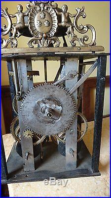 Mécanisme a cartouche bleu 1 aiguille petit 19cm