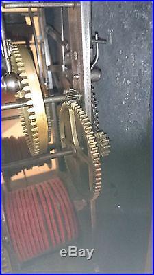 Mécanisme cuvette X VIIIe 1aiguille A gualerie en laiton