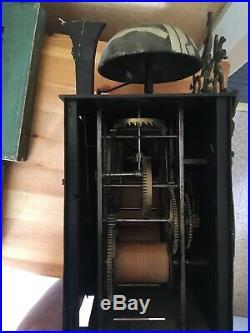 Mecanisme de comtoise 18 eme de 21,5 cm Dans l état