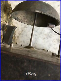 Mecanisme de comtoise mensuel à nettoyer avec balancier et reviser