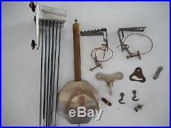 Mecanisne odo france 10 marteaux comtoise horloge pendule carillon