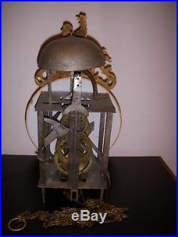 Mecansime Mouvement Horloge XVIII Eme Au Coq