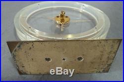 Montre pendule horloge jaeger lecoultre squelette ancien clock desing deco