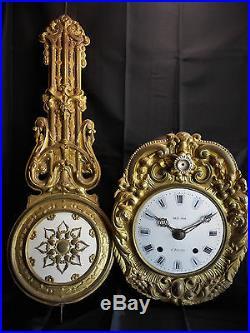 Mouvement / Balancier Horloge Comtoise / Clock Uhr Orologio
