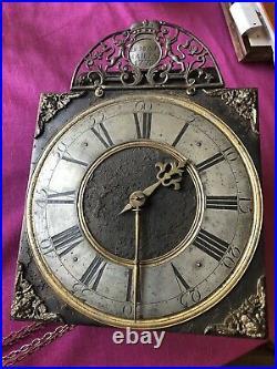 Mouvement Horloge De Liège À Sonnerie 18 E Siècle BELGIAN CLOCK MOVEMENT RELOJ