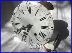 Mouvement Horloge Pendule Fin 18e