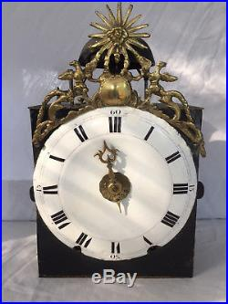 Mouvement Horloge Pendule Mayet Une Aiguille Comtoise