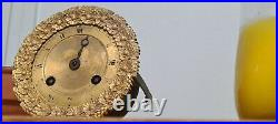 Mouvement à Fil de Pendule Bronze Dore Empire Restauration 19eme Heure Fonction