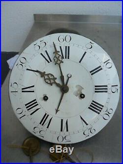 Mouvement chevalier béthune demoiselle XVIII normande, comtoise, horloge, pendule