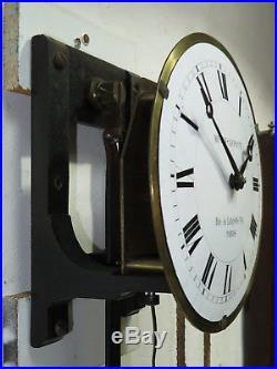 Mouvement complet pendule regulateur de gare HENRY LEPAUTE station clock