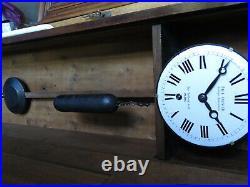 Mouvement complet regulateur Paul GARNIER regulator station clock (no lepaute)