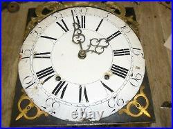 Mouvement comtoise 18 éme coq dans son jus, horloge, pendule, mécanisme