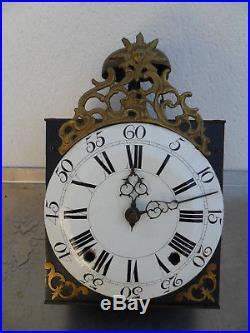Mouvement comtoise soleil XVIII éme petite taille dans son jus, horloge, pendule