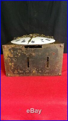 Mouvement d'horloge 19ème siècle