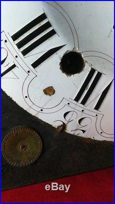 Mouvement d'horloge à coq cadran cuvette