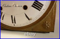 Mouvement d' horloge comtoise XIXème (Château Chinon 58) réf 259