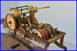 Mouvement d'horloge de clocher époque XVIIIème