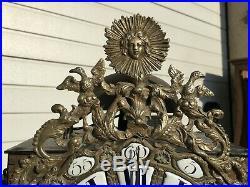 Mouvement d'horloge du 18ème siècle qui fonctionne bien Le Roi soleil