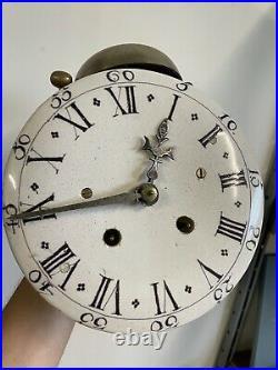 Mouvement de Pendule Horloge Comtoise Régulateur XVIIIeme 18ème Mécanisme