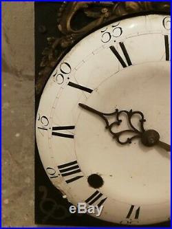 Mouvement horloge comtoise ancienne