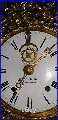 Mouvement horloge comtoise brocot pendule