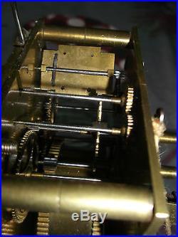 Mouvement mécanisme pendule 18ème échappement spécial Uhr clock reloj orologio