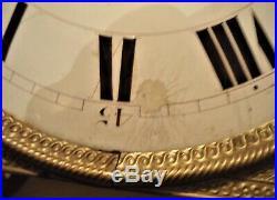 Mouvement mécanisme horloge comtoise XIXe mensuel 30 jours refA27/15
