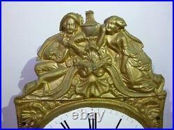 Mouvement mensuel mécanisme comtoise horloge de parquet