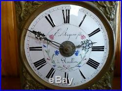 Mouvement mensuel mécanisme comtoise horloge de parquet 2
