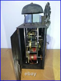 Mouvement mensuel mécanisme comtoise horloge de parquet 3 aiguilles