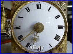 Mouvement mensuel mécanisme comtoise horloge de parquet n°1