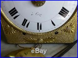 Mouvement mensuel mécanisme comtoise horloge de parquet n°2