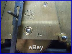 Mouvement pendule, carillon ODO 24 10 marteaux