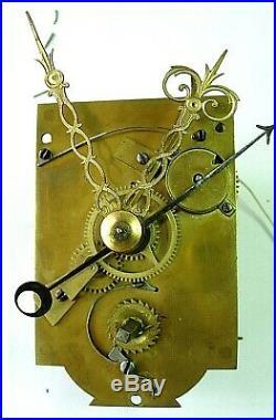 Mouvement pendule réveil cartel uhr clock klok Kaminuhr No comtoise n 18