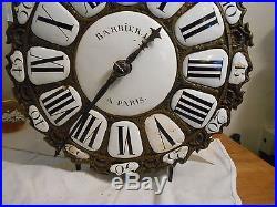 Mouvement(tete) d'horloge lanterne a restaurer