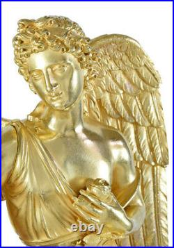PENDULE EROS Kaminuhr Empire clock bronze horloge antique cartel