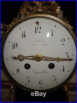 PENDULE STYLE LOUIS XVI CLOCK UHR