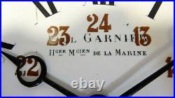 Paul GARNIER Rare horloge pendule mécanique mouvement 8 jours XIXè