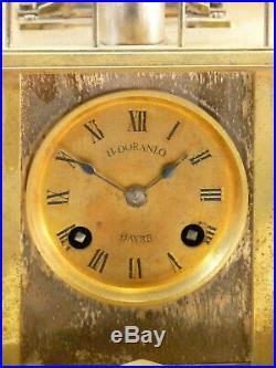 Pendule Aux Marins par Guilmet n°1412 French industrial clock uhr reloj orologio