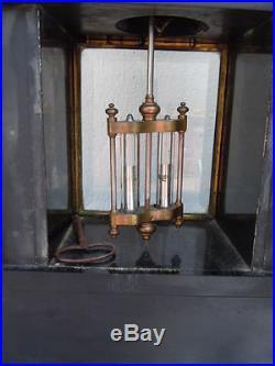 Pendule Brocot Villardry Paris style victorien d'époque Napoléon III XIXème
