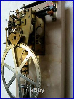 Pendule CHARVET DELORME master clock electric (no Brillié, Lepaute, Ato)