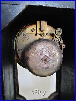 Pendule Cartel + socle XIXe NAPOLÉON III Marqueterie Boulle style Louis XIV