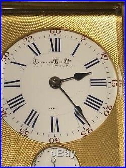 Pendule Dofficier LEROY PARIS XIXeme